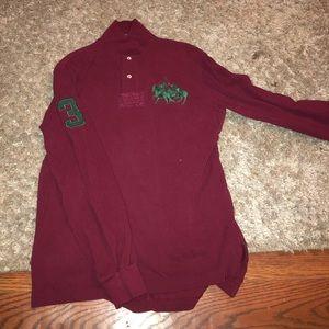 Men's Long sleeve polo Ralph Lauren shirt